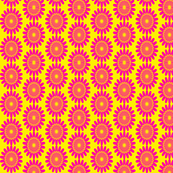 Sixties inspired Floral Pattern