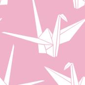 Origami Cranes: Bubblegum