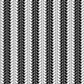 Willow Branch Stripe - Monochrome