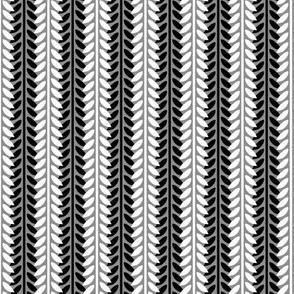 Willow Branch Stripe - Monochrome