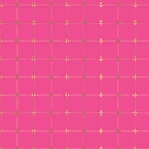 CampaignPattern-Hot Pink