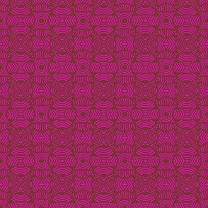 Concave Circles Dense Pink
