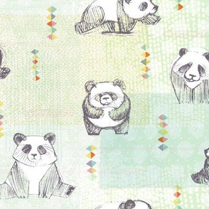 Panda Cubs by Friztin