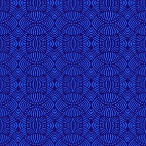 Ovals and Squares Cadet Blue