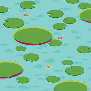 Islanders - Lily Pond