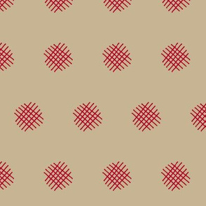 Red Crosshatch (Adobe)