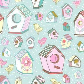 spring bird houses