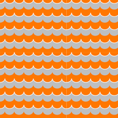 Nautical Coord- Scallops Orange 2