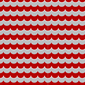 Nautical Coord - Scallops Red 2
