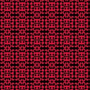 Paper Cutouts Red Black