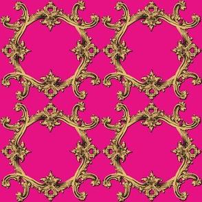 Rococo Swag ~ Box Seat Coordinate