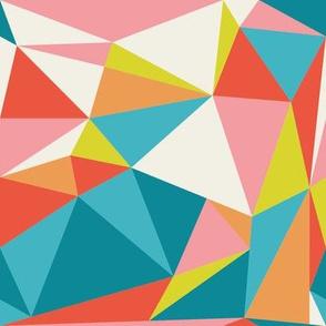 Geometric Triangle in Retro