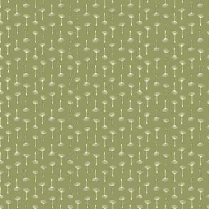 Fine & Dandelion Seeds in Green