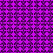 Fish Circles Small Purple