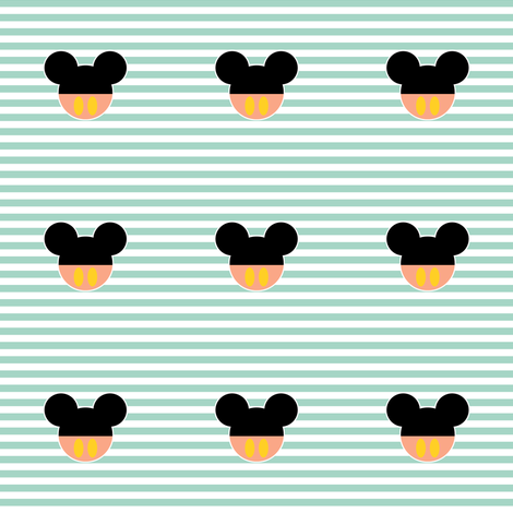 mickey_with_pants_on_mint_white_stripes
