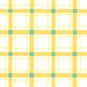 Lemon & Lime Plaid