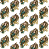Blue Mermaid fabric