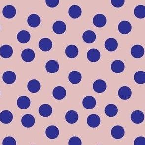 pale pink and purple confetti