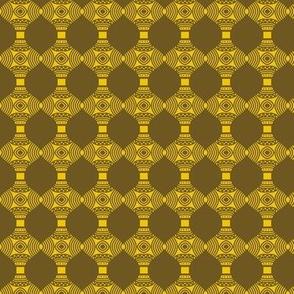 Beads Egyptian Golden Eye