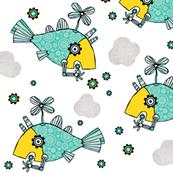Fishy machines