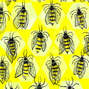 At home in the hive