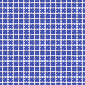 Trellis Weave Cobalt