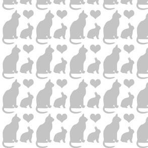 Cat Heart Bunny