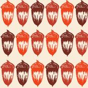 Acorns Big - Autumnal Orange Mix