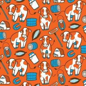 Moo Cow - Orange
