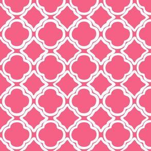 Ogee Garden Trellis Pink