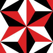 isosceles SC3 - black white and red