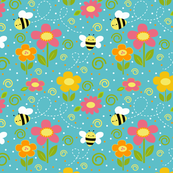 Bees and Flowers