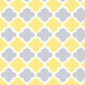 Purple & Yellow Moroccan Tile Pattern
