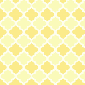 Moroccan Butter Color Pattern