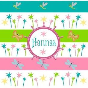 Ahoy Aloha Palm - Personalized Hannah