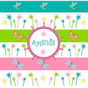 Ahoy Aloha Palm - Personalzied