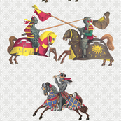 knights parade