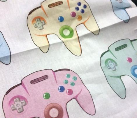 Pop Art N64 Inspired Controller