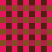 Picnic Blanket Brown + Pink