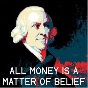 poster-ized Adam Smith 1723-1790