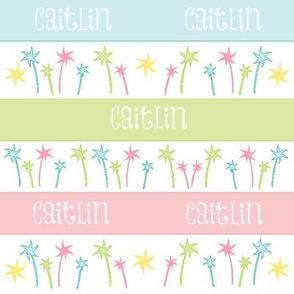 Palm Coast Stripes-personalized
