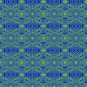 Tropical Vacation Blue Green