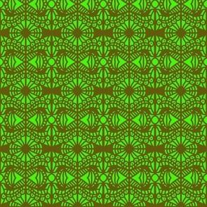 Flora and Fauna Green Brown