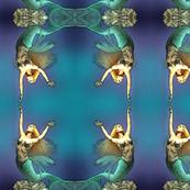 swomming mermaid