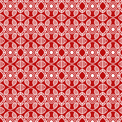 Scandinavian Holiday Red White