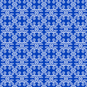 Scandinavian Berries Blue White