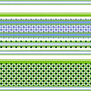 Viola : Leaf & Petal stripe