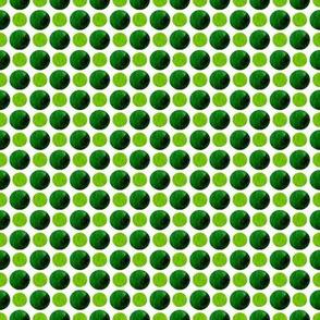 Leaf green spots & dots