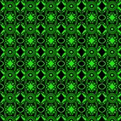Irish Starry Night Green Black