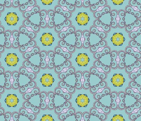 delicate octopus kaleidoscope lattice